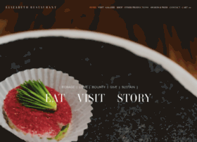 Website.elizabeth-restaurant.com thumbnail