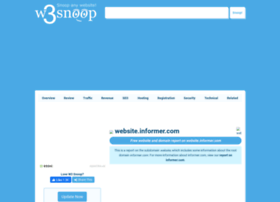 Website.informer.com.w3snoop.com thumbnail