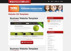 Websitecsstemplates.com thumbnail