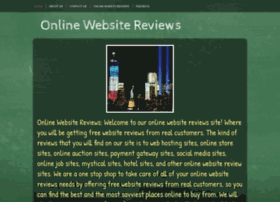 Websitesreview.webs.com thumbnail