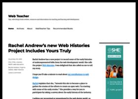 Webteacher.ws thumbnail