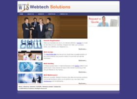 Webtechsolutions.in thumbnail