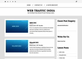 Webtrafficindia.in thumbnail