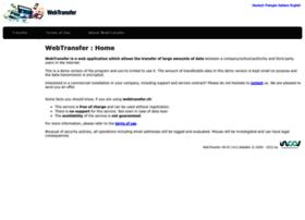 Webtransfer.ch thumbnail