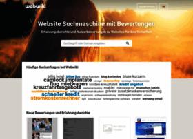 Webwiki.de thumbnail