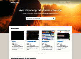 Webwiki.fr thumbnail