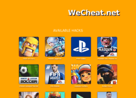 Wecheat.net thumbnail