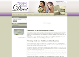 Weddingcardsdirect.co.uk thumbnail