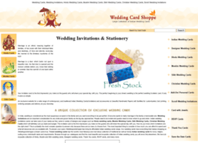 Weddingcardshoppe.com thumbnail