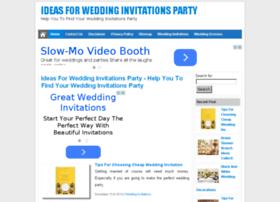 Weddinginvitationsparty.com thumbnail