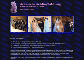 Weddingrabbi.org thumbnail