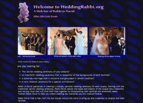 Weddingrabbi.org thumbnail