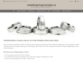 Weddingringscanada.ca thumbnail