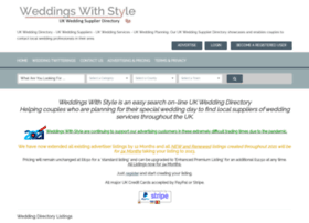 Weddingswithstyle.co.uk thumbnail