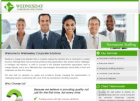 Wednesdaycorp.com thumbnail