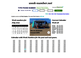 Week-number.net thumbnail