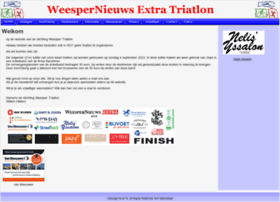 Weespernieuwstriatlon.nl thumbnail