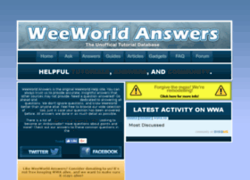 Weeworldanswers.yolasite.com thumbnail
