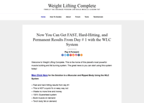 Weight-lifting-complete.com thumbnail