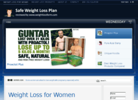 Weightlossform.com thumbnail