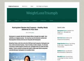 Weightlosstriumph.com thumbnail