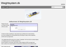Weightsystem.dk thumbnail