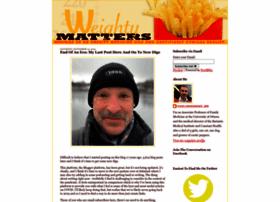 Weightymatters.ca thumbnail