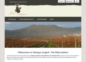Weingut-junghof.de thumbnail