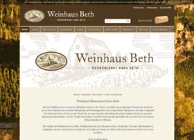 Weinhaus-hans-beth.de thumbnail