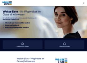 Weisse-liste.de thumbnail