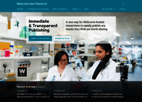 Wellcomeopenresearch.org thumbnail