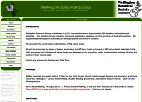 Wellingtonbotsoc.org.nz thumbnail