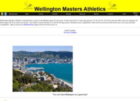 Wellingtonmastersathletics.org.nz thumbnail