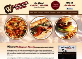 Wellingtonspizzeria.com thumbnail
