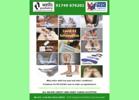 Wellspodiatry.co.uk thumbnail