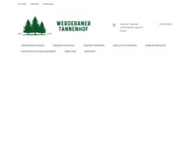 Werderaner-tannenhof.de thumbnail