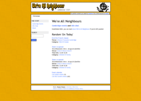 Wereallneighbours.co.uk thumbnail