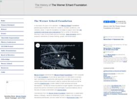 Wernererhardfoundation.org thumbnail