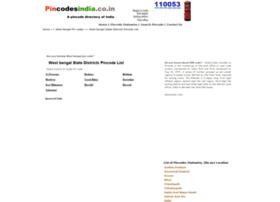 West-bengal.pincodesindia.co.in thumbnail
