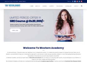 Westernacademy.co.in thumbnail