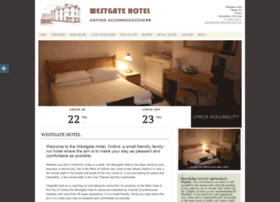 Westgatehoteloxford.co.uk thumbnail