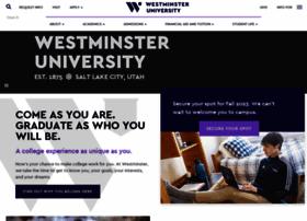 Westminstercollege.edu thumbnail