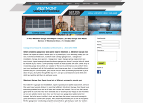 Westmontgaragedoorrepair.biz thumbnail