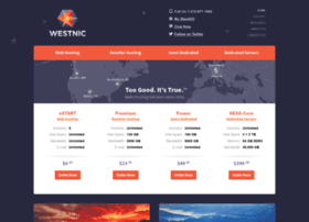 Westnic.net thumbnail