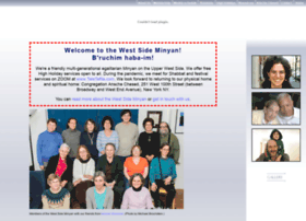 Westsideminyan.org thumbnail