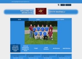 Weymouthyouthbaseball.net thumbnail