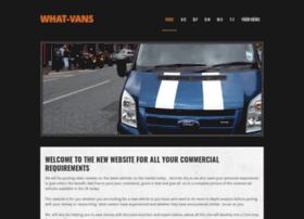 What-vans.co.uk thumbnail