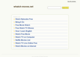 Whatch-moves.net thumbnail