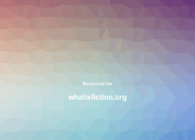 Whatisfiction.org thumbnail