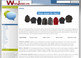 Whatjacket.info thumbnail